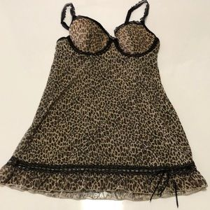 🛍Cute animal print lingerie size small